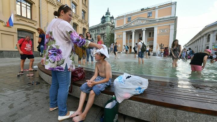 Утомлённые солнцем: В Москве открылись комнаты прохлады