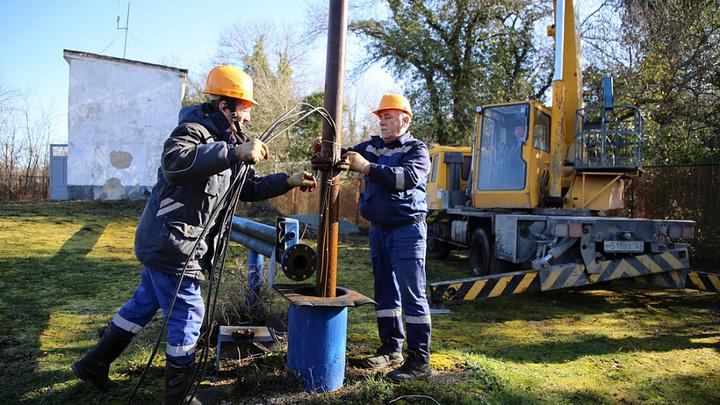 В Геленджике продолжают решать проблему дефицита воды