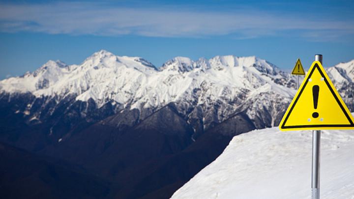 В Сочи спрогнозировали повышенную лавиноопасность