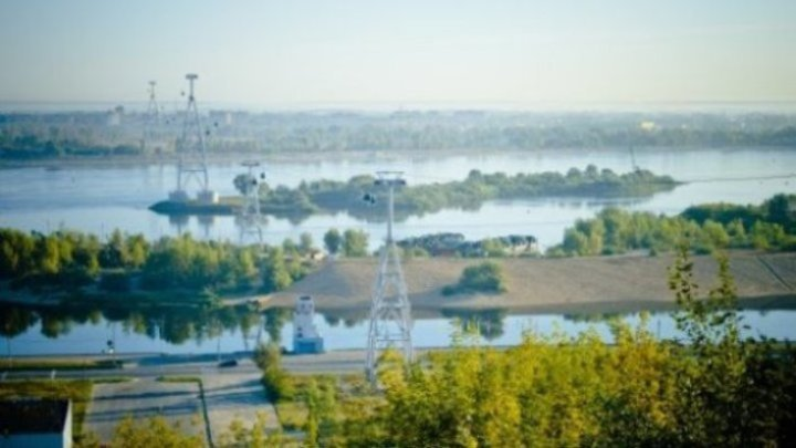 Нижегородская канатная дорога переходит на летнее расписание