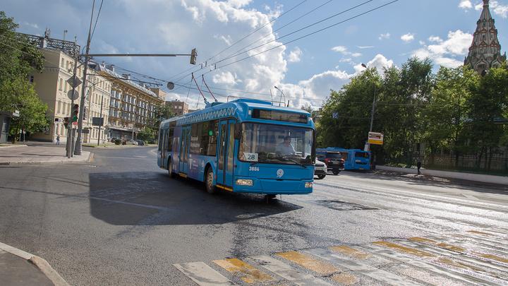 У нового старого троллейбуса из Москвы отказали тормоза в Дзержинске