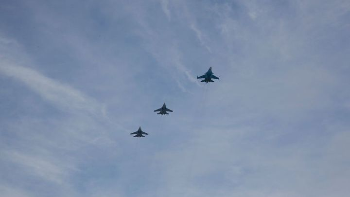 В Минобороны рассказали о возвращении тела летчика Су-25 в Россию