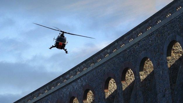 На обед залетал: «Волшебник» на вертолете приземлился на парковке возле дома в Башкирии