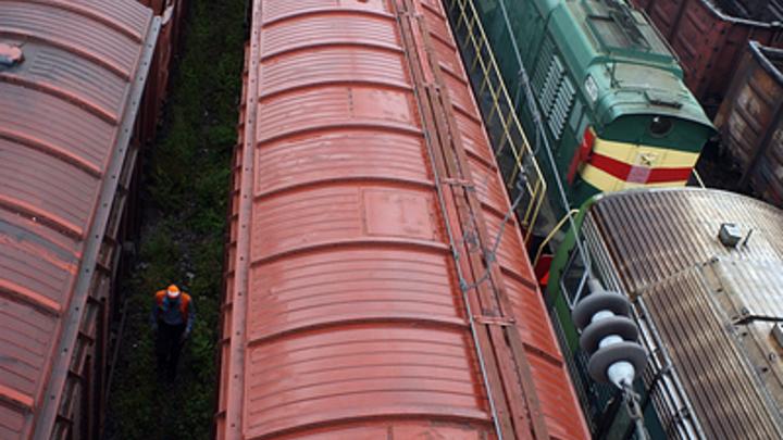 В 250 километрах восточнее Читы столкнулись два грузовых поезда