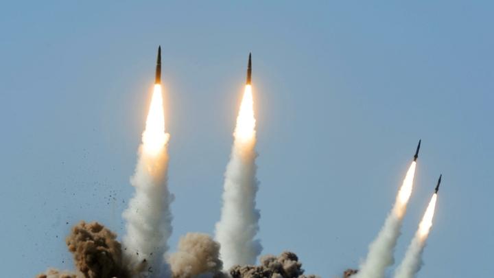 Российские войска провели учения с использованием ракетного комплекса Точка-У