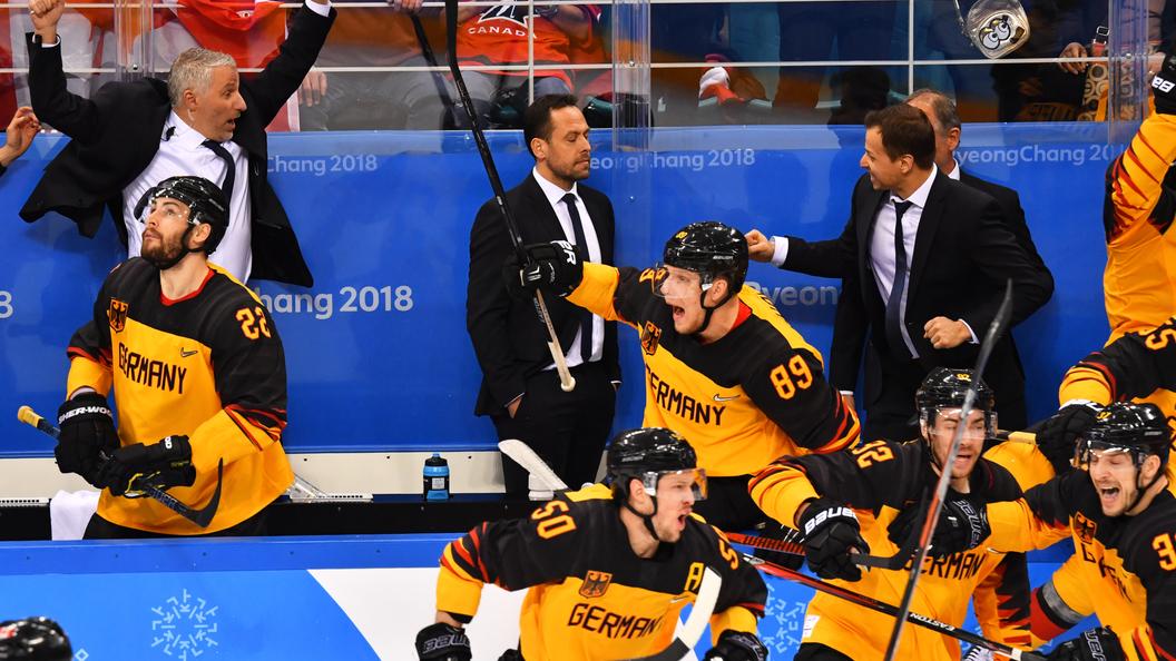 Сборная Канады похоккею завоевала бронзу наОИ