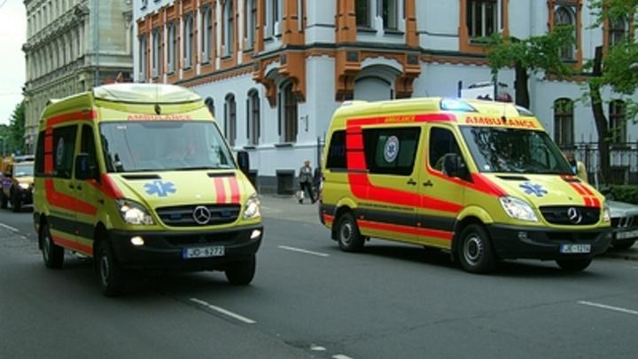 В Сормове водитель пазика получил тепловой удар и протаранил пять автомобилей