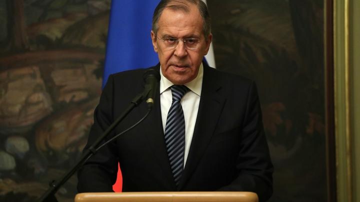 Русофобская провокация: Лавров рассказал о «химатаке» в Сирии