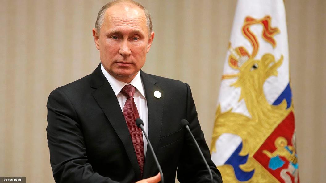 С ногами забрались, на голову сели: Путин потребовал от Запада не вмешиваться во внутренние дела России
