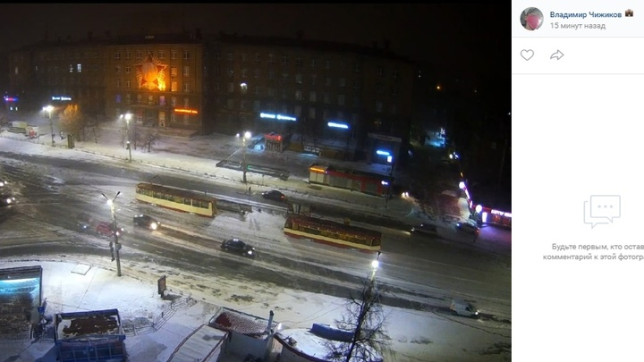 Морозы в Челябинске: трамваи не ходят, такси подорожало в три раза