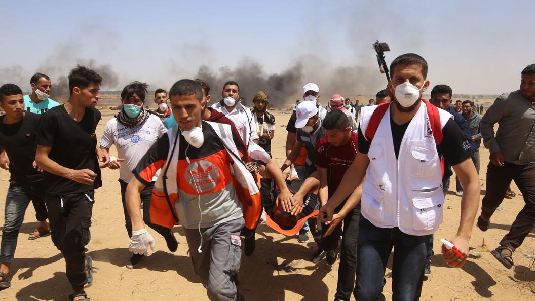 Израильские силовики непощадили палестинца наинвалидной коляске вГазе