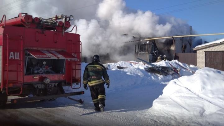 Из-за морозной зимы во Владимирской области выросло на 80%  количество жертв на пожарах