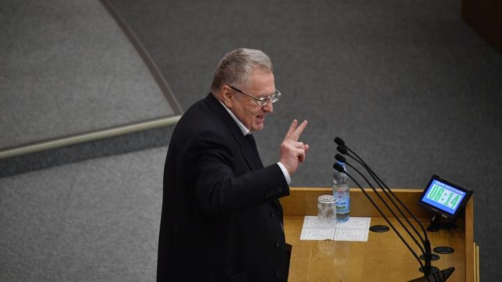 Жириновский: Собчак и Гордон сделали из выборов Хеллоуин и буффонаду