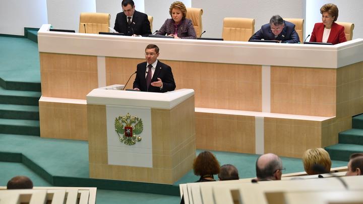 Совет Федерации одобрил закон оботзыве гражданства России у террористов