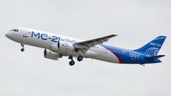 Опытный самолет МС-21 проделал путь от Иркутска до Жуковского без единой посадки