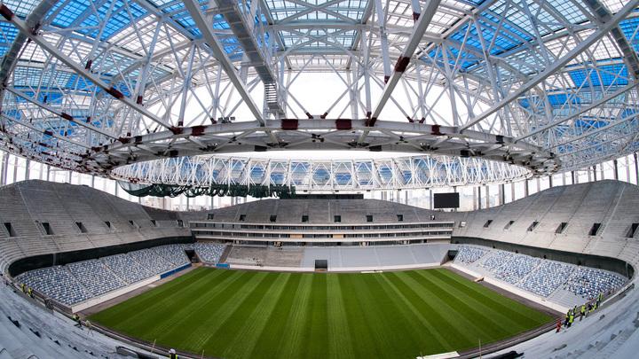 Стадион в Нижнем Новгороде получил заключение о соответствии