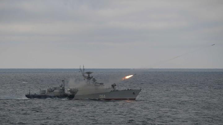 Москва обратилась к США перед учениями в Чёрном море