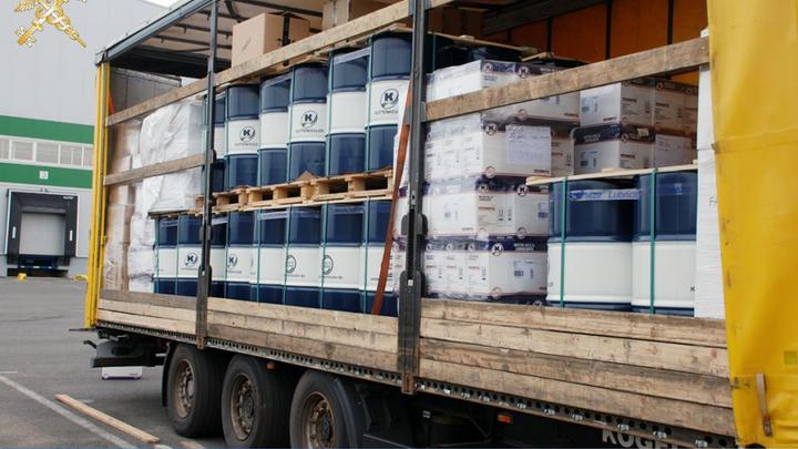 Из Литвы в Беларусь пытались провезти более двух тонн машинного масла по заниженной цене