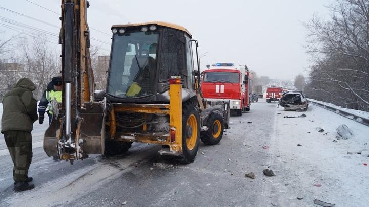 В Челябинской области водители сообщили о метели и гололедице на трассе М-5