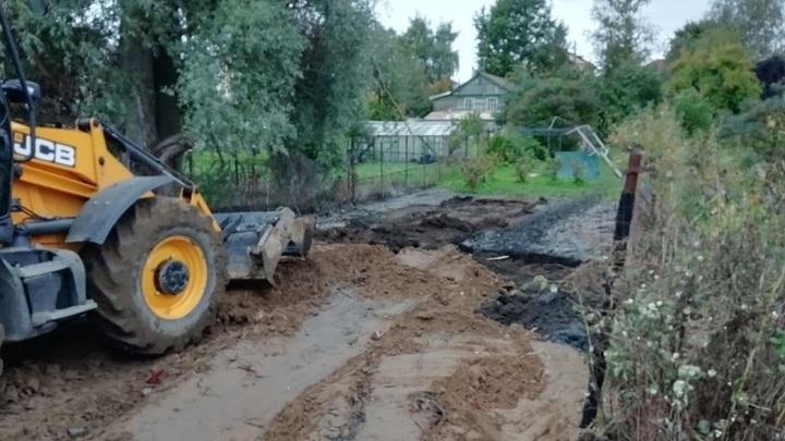 В Балашихе произошел залповый выброс канализационных вод