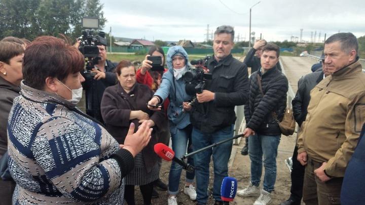 Главный дальневосточник Трутнев встретился с жителями подтопленной Шилки