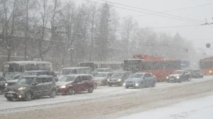 Снегопады и метель ожидаются в Нижегородской области 7 и 8 марта.