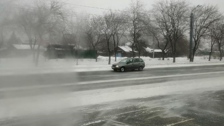 В Челябинской области дальнобойщики советуют не выезжать на трассу М5