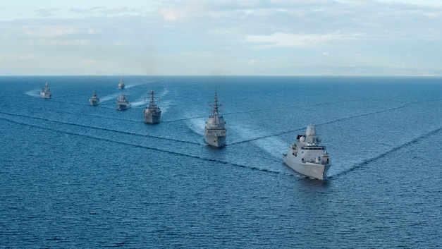 «Мощный сигнал» для Москвы: В США поведали, зачем корабли НАТО отправились в Норвегию