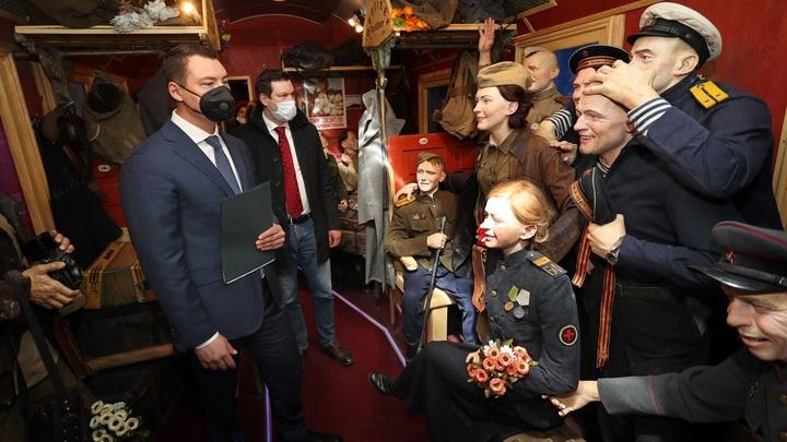Во Владимир приехал Поезд Победы