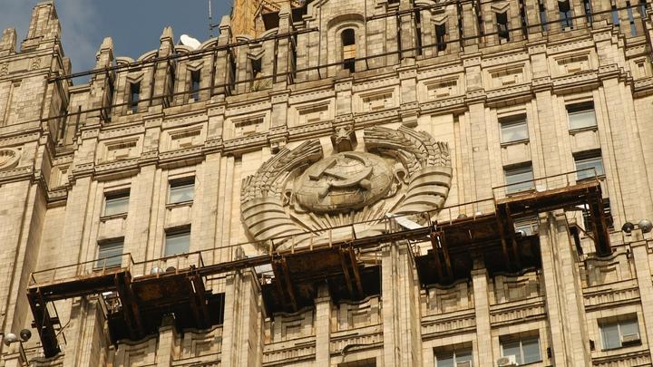 Обновленный шпиль украсил здание МИД