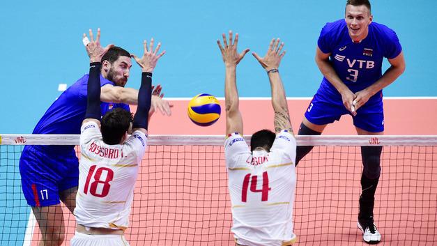 «Финал шести» стал историческим для российской сборной по волейболу