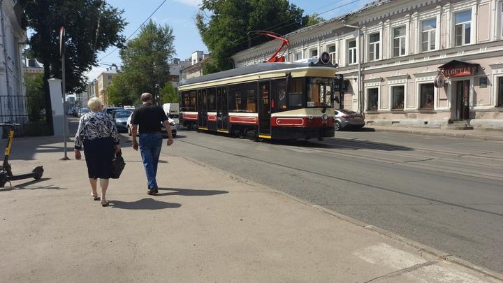 Первый ретро-трамвай вышел на маршрут в Нижнем Новгороде: впечатления пассажира