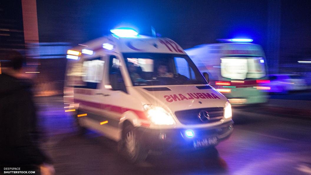 В Швеции автобус со школьниками вылетел в кювет и перевернулся