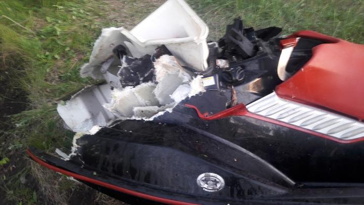 В Кинеле нашли тело второй погибшей при столкновении гидроцикла с деревом