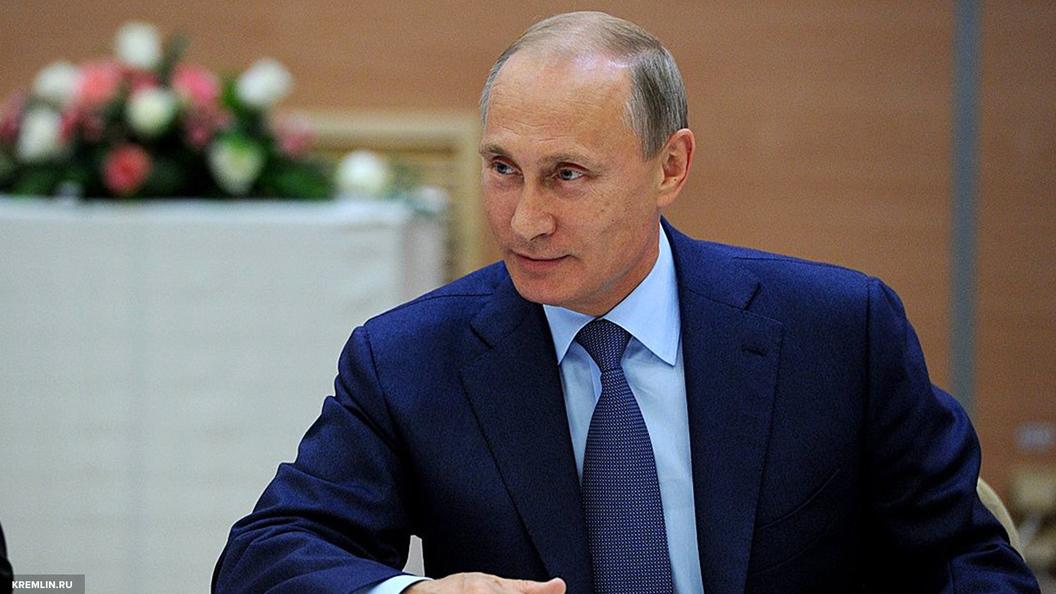 Путин сравнил свою работу с борьбой морских моллюсков - ангела и черта