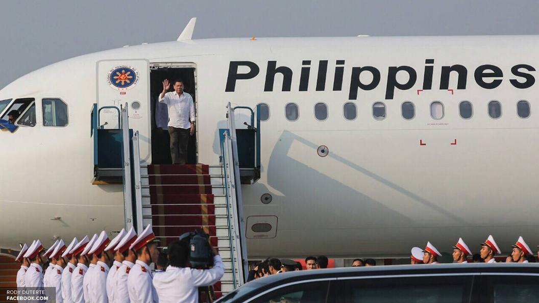 Дутерте прервал визит в Российскую Федерацию и возвратится встолицу Филиппин