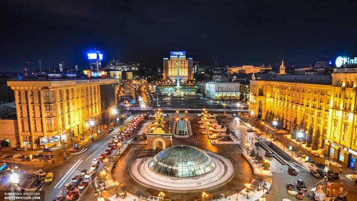 Киевское метро отказалось демонтировать георгиевскую ленту с Героев Днепра