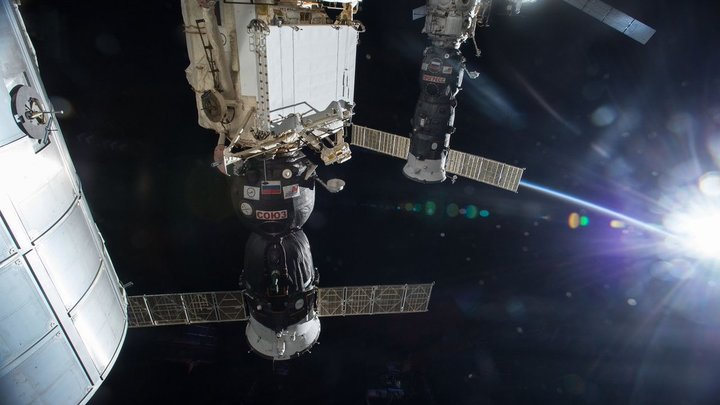 Друг познаётся в биде: Гаспарян со смехом прокомментировал клозетный коллапс у астронавтов на МКС