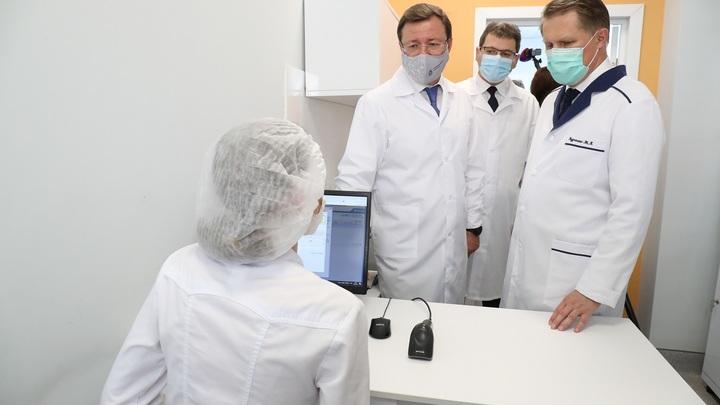 Министр здравоохранения  Михаил Мурашко принял участие в открытии инфекционного корпуса в Тольятти
