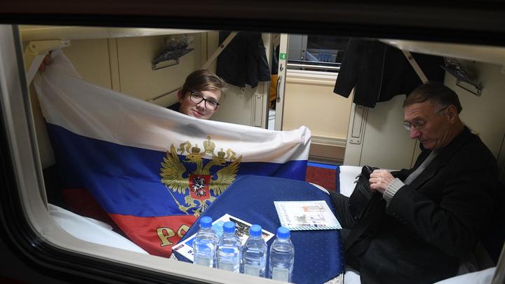 Вагоны вас удивят. Железнодорожники открыли новое направление в Крым