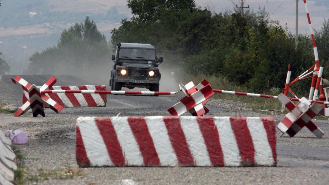 Из-за селя закрыта единственная дорога из России в Южную Осетию