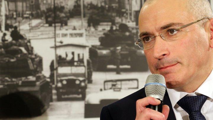 Редактор Национальной обороны: На 50 миллиардов Ходорковский устроит цветную революцию
