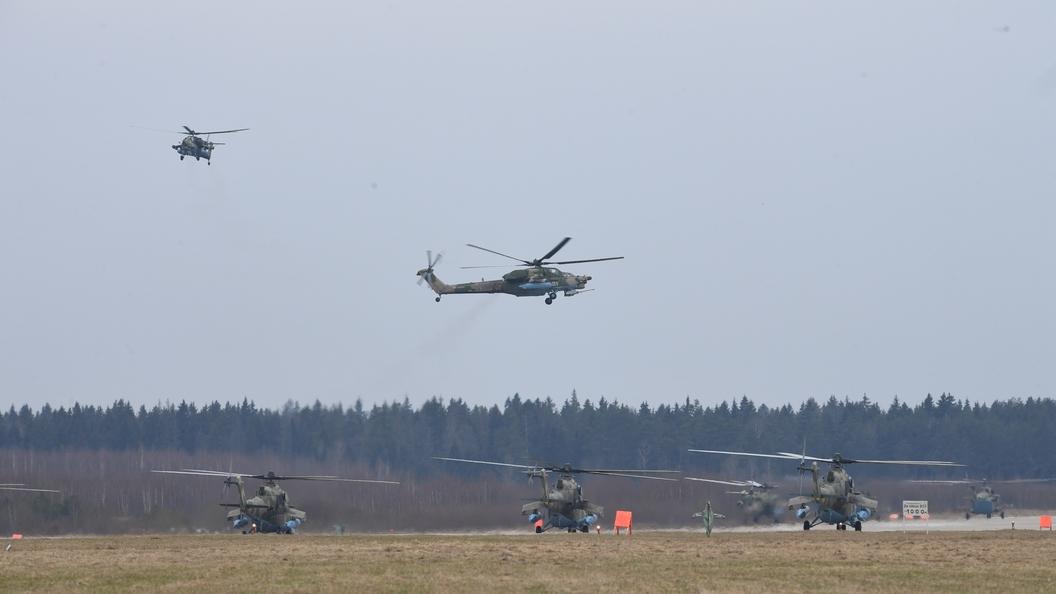 Российский спецназ пересядет на вертолеты, обновленные под Сирию