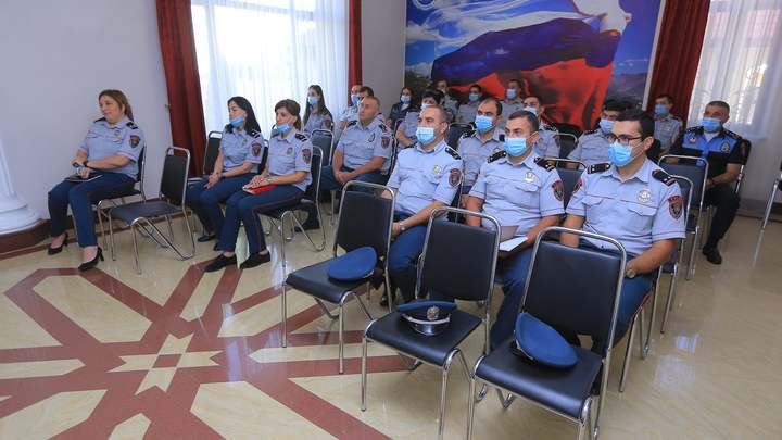 Курсы русского языка для полицейских стартовали в Гюмри