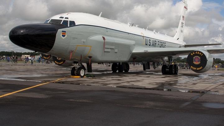 Самолёты-разведчики США облетели границы России на Балтике и вдоль берегов Чёрного моря