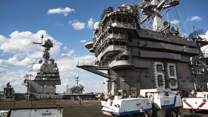Война нервов: США направляют к берегам Сирии ударную группу с авианосцем