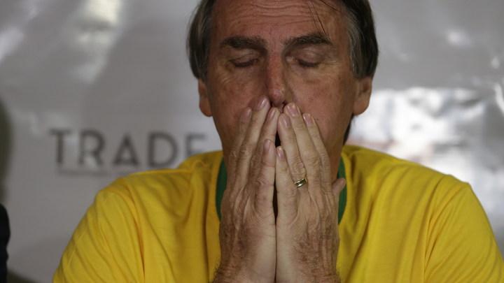 Неучаствующий в избирательной кампании кандидат в президенты Бразилии продолжает уверенно лидировать