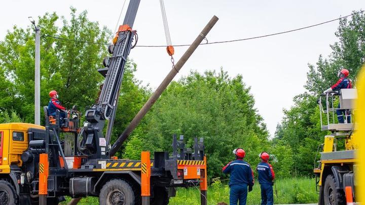 Энергетики Подмосковья работают в режиме повышенной готовности в ожидании циклона Дирк
