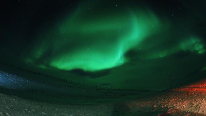 В небе над Москвой вспыхнет полярное сияние