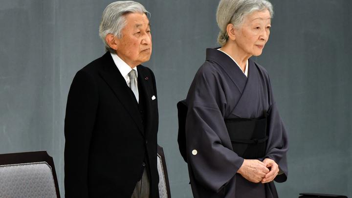 Император Акихито оставит престол 30 апреля